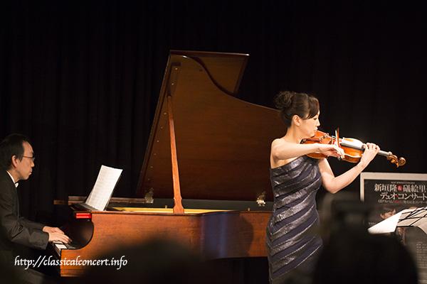 ピアノ:新垣隆+ヴァイオリン:礒絵里子