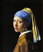 ヨハネス・フェルメール作「真珠の耳飾りの少女」