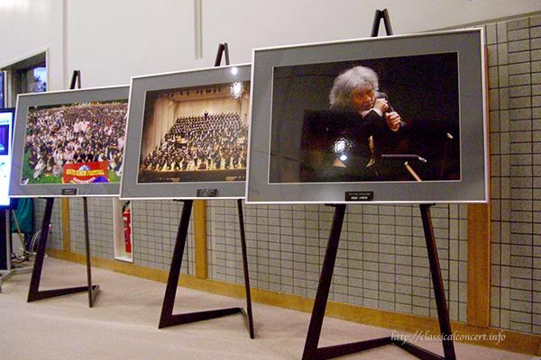 2010年の「サイトウ・キネン・フェスティバル松本」の会場の1つ長野県松本文化会館内にて